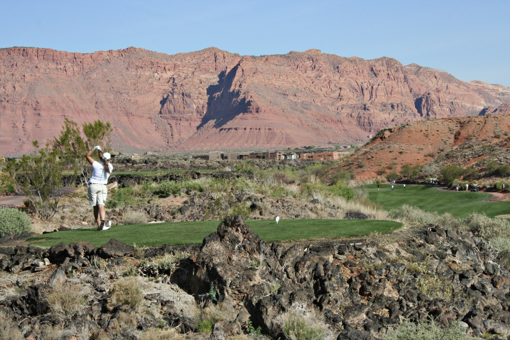 Desert Golf Fairway